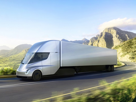 Orders are already pooring in for the new electric truck, which Musk said will go into...