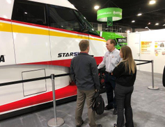 A Shell expert explains the finer points of the Starship truck to TMC members.Photo: Jack Roberts