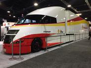 Shell unveiled its Starship efficiency truck. Photo: Deborah Lockridge
