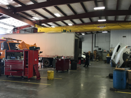 When a truck comes into one of Thompson Truck & Trailer's locations like this one in Sterling,...