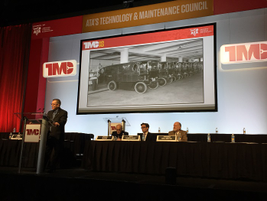UPS had a fleet of electric trucks back in the 30s, as they pointed out in a session on last...