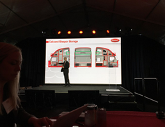 Increased storage is a key feature of the Peterbilt Model 579 UltraLoft. Photo: Deborah Lockridge