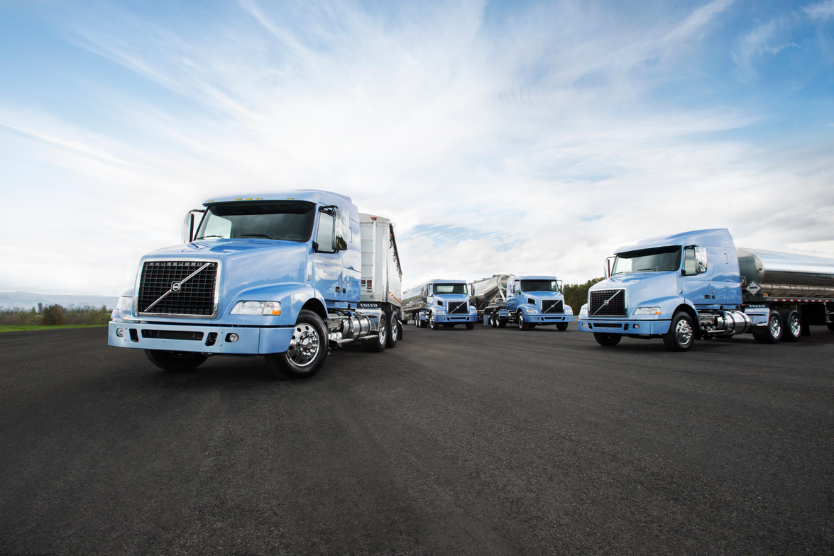 The Bulk-hauling Optimized series also includes shorter VNM tractors that, like VNL versions,...