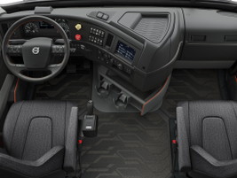 Driver productivity and comfort were key design priorities, resulting in an all-new dashboard...