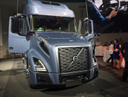 The truck builds on Volvo's established styling cues combined with dynamic new features, such as...