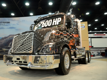 At the core of the new VNX heavy-haul and vocational tractor is a Volvo integrated powertrain...