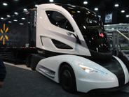 The Walmart Advanced Vehicle Experience is a concept tractor-trailer combination that features...