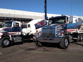 Professional drivers ran a timed maneuver course with Western Star 4700 mixer trucks. This is...