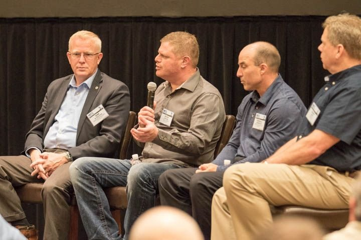 During the Fleet Innovator roundtable discussion, the four winners spoke about a variety of...