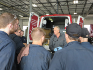 Technicians from Central Illinois Trucks took advantage of Meritor's mobile training and learned...