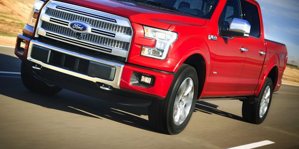 Ford's 2015 Pickup Already Dubbed 'Aluminum F-150'