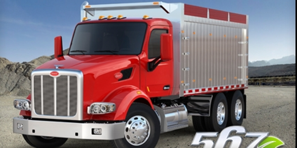 The vocational Peterbilt Model 567. (PHOTO: Peterbilt)