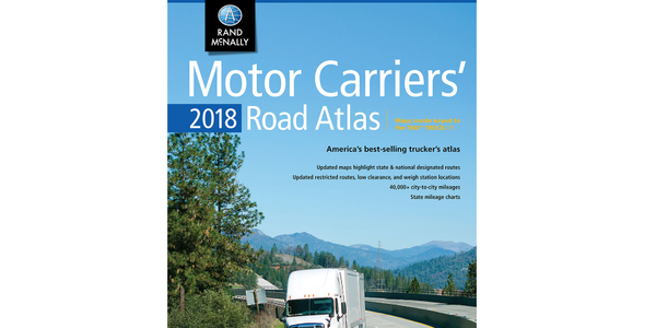 Rand McNally Updates Motor Carriers' Road Atlas