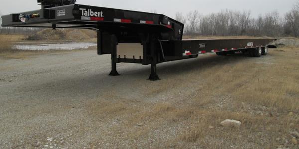 Talbert Unveils New Traveling Axle Trailer