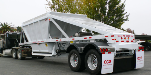 A New All-Steel Bottom Dump Trailer from ACE