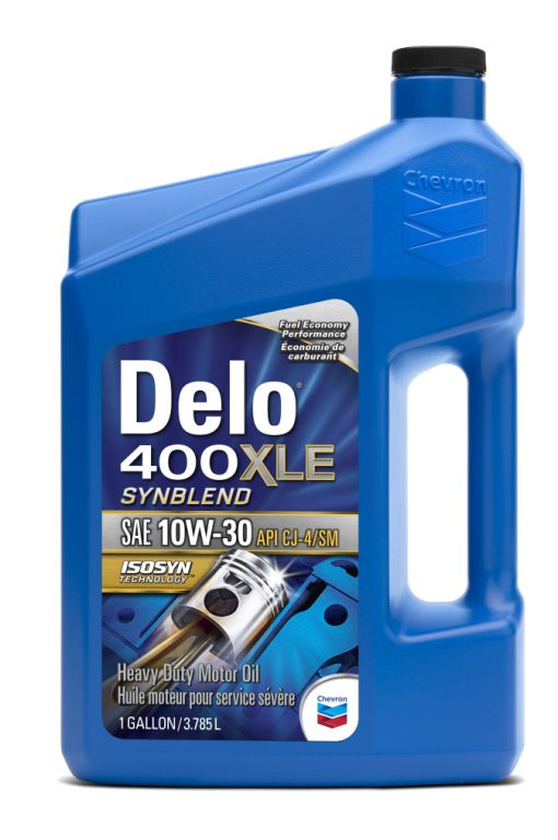 Delo 400 XLE Synblend SAE 10W-30 Targets Fuel Economy