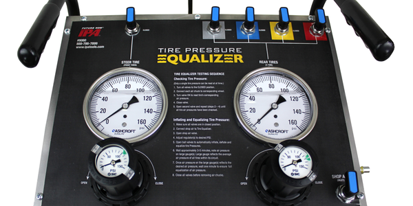 The Mobile Tire Pressure Equalizer is designed to quickly inflate or deflate up to five tires at...