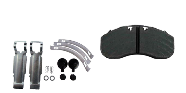 AxleTech International Releases Air Disc Brake Pads