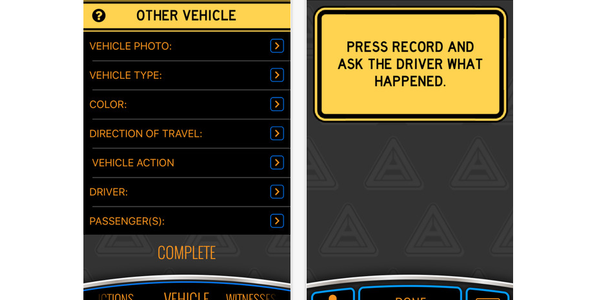 Accident Reporting App Guides Drivers Through the Process