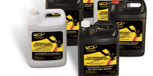Alliance Truck Parts Launches New Coolant/Antifreeze Products