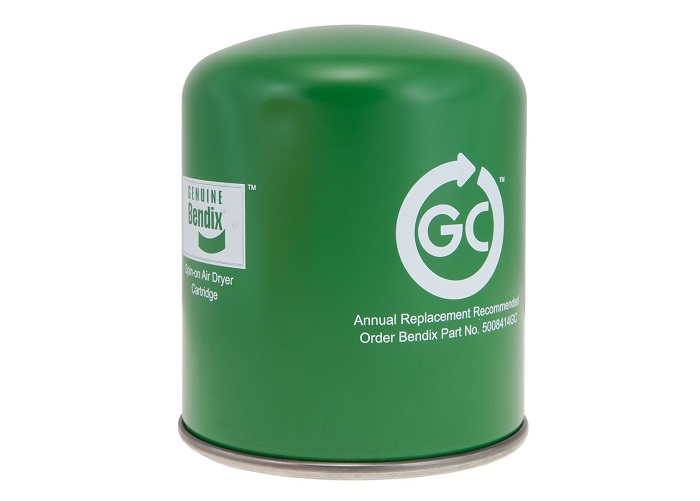 Aftermarket Air Dryer Cartridge Uses Recycled Desiccant