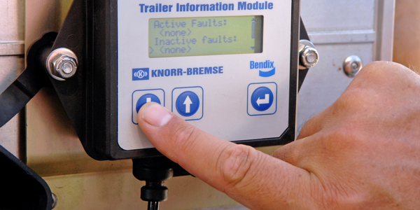 Bendix Trailer Information Module Offers Access to Trailer Data