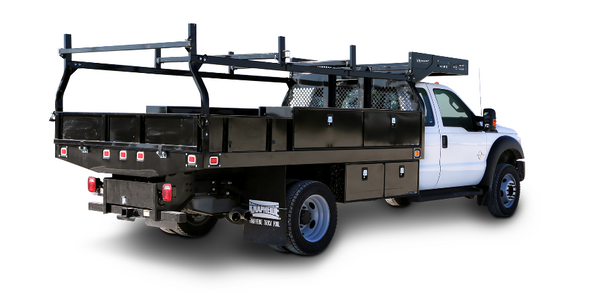 Truck Body Designed for Severe Job Environments