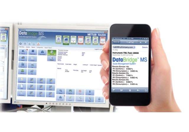 DataBridge MS Shares Data In Real-Time