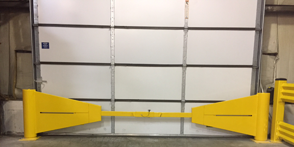 Dock Stop Designed to Prevent Accidents at Warehouse Gates