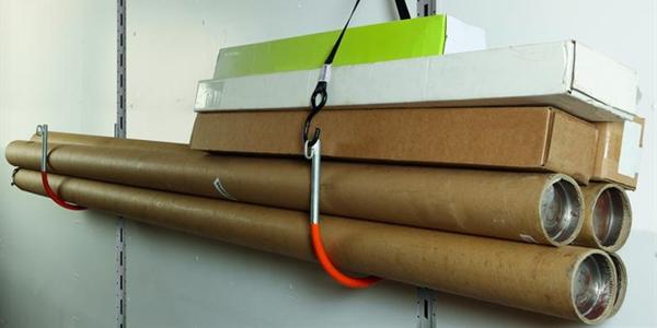 E-Hook Helps Store Awkward Cargo