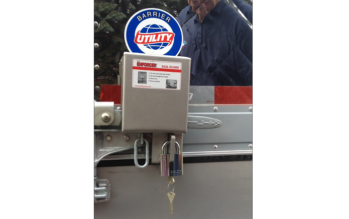 Lock Prevents Trailer Seal Tampering - Products - Trucking Info