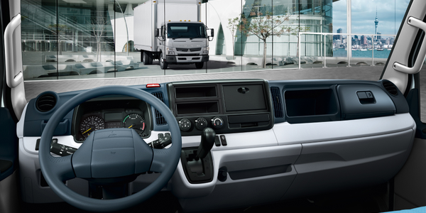 Mitsubishi Announces Idle Limit System Option for Canter Trucks