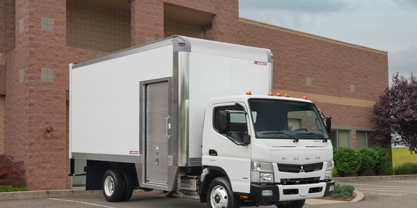 Mitsubishi Fuso Truck Now Offers Morgan Maximizer Body on Canter LCOE Work Trucks