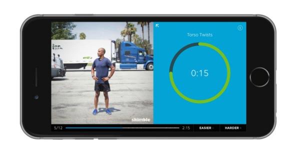 Fitness App Offers Program for Truckers