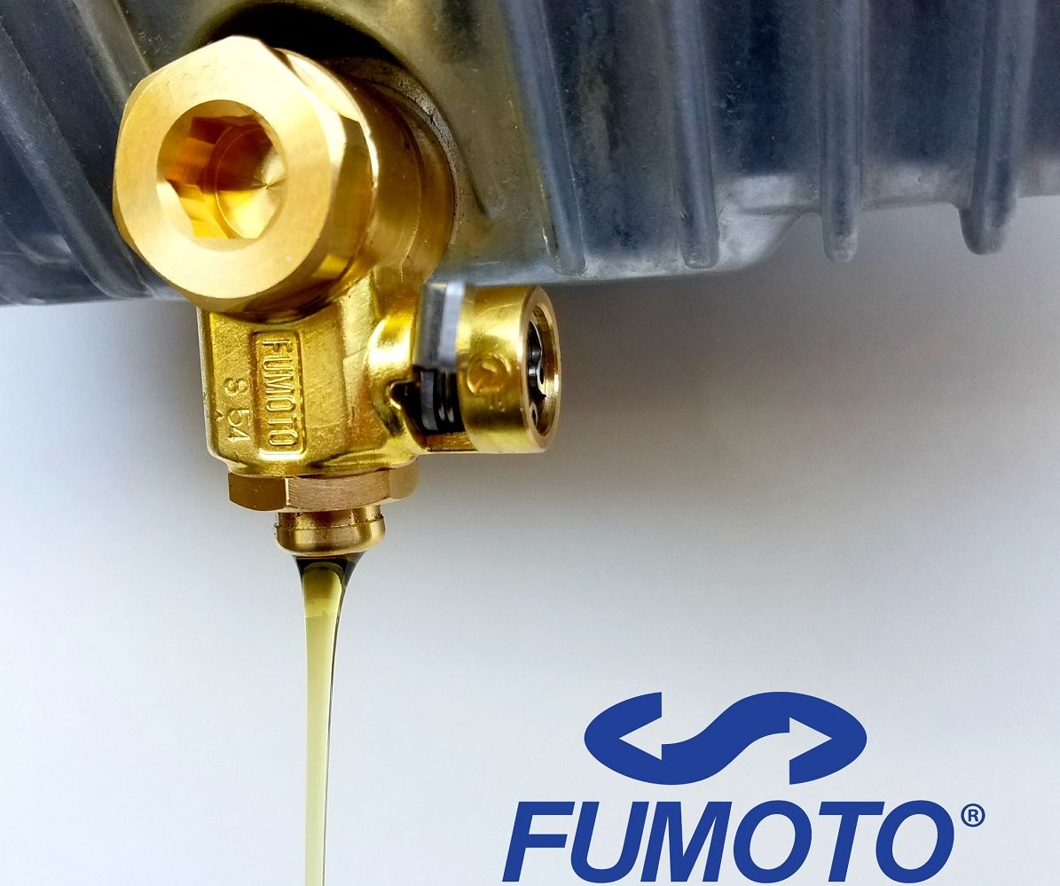 Fumoto Engine Oil Drain Valve Approved For Trademark