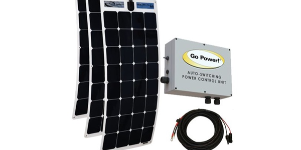 Go Power! Offers Pallet Jack and Liftgate Solar Charging Solution
