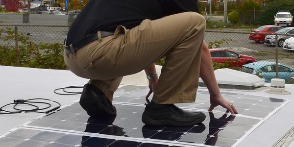Go Power Reveals Pliable Solar Flex Panels