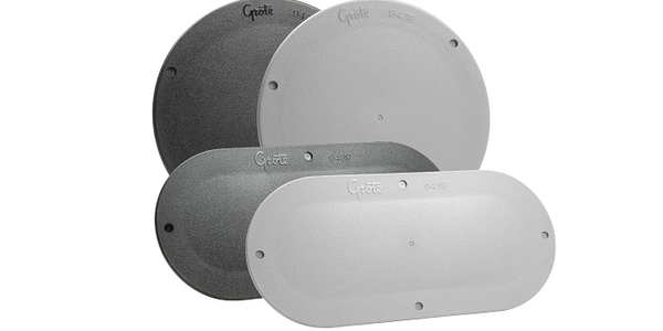Grote Offers Snap-In Cover Plates for Lights