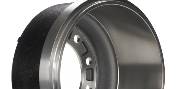 Gunite Introduces Silver Lightweight Brake Drum