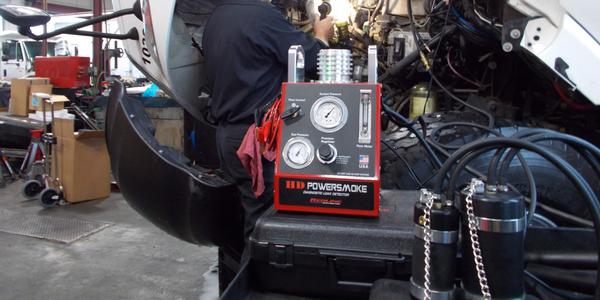 HD PowerSmoke Tester Helps Find Air, Exhaust Leaks