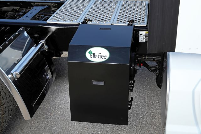 Idle Free Complete Electric APU Solution