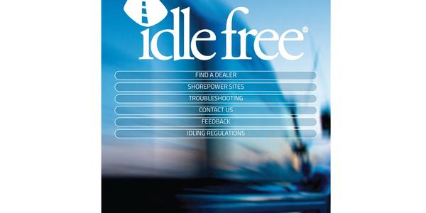 Idle Free App Provides Information on APU