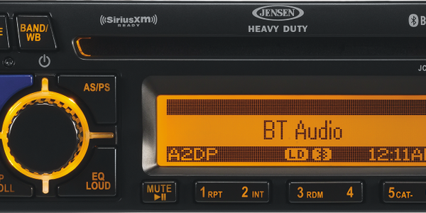 Multi-Capable Jensen HD Bluetooth Radio Coming in May