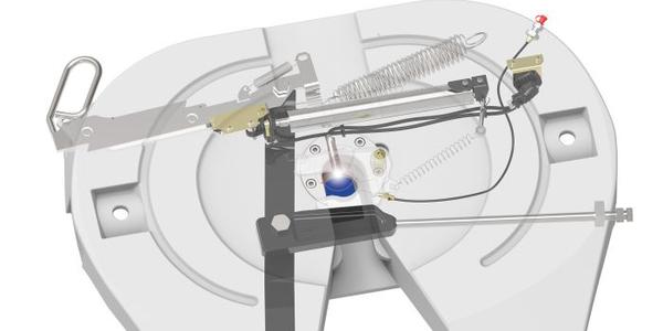 Jost's Air-Release Fifth Wheel Features Sensor Tech
