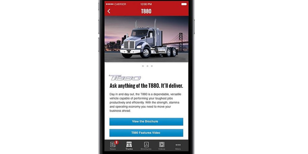 Kenworth Launches Essentials App for Mobile Devices