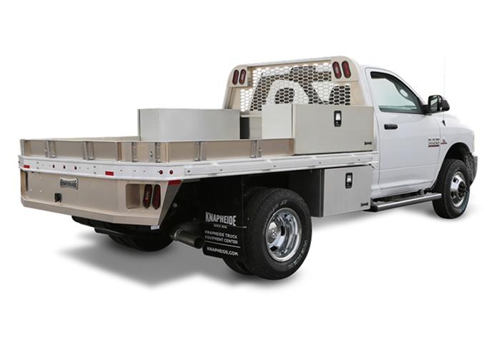 Knapheide's Aluminum Gooseneck is Corrosion Resistant