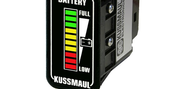 In-Cab Display Shows Battery Status