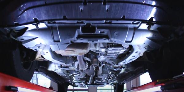 LEDs Light Up Trucks for Repair Work