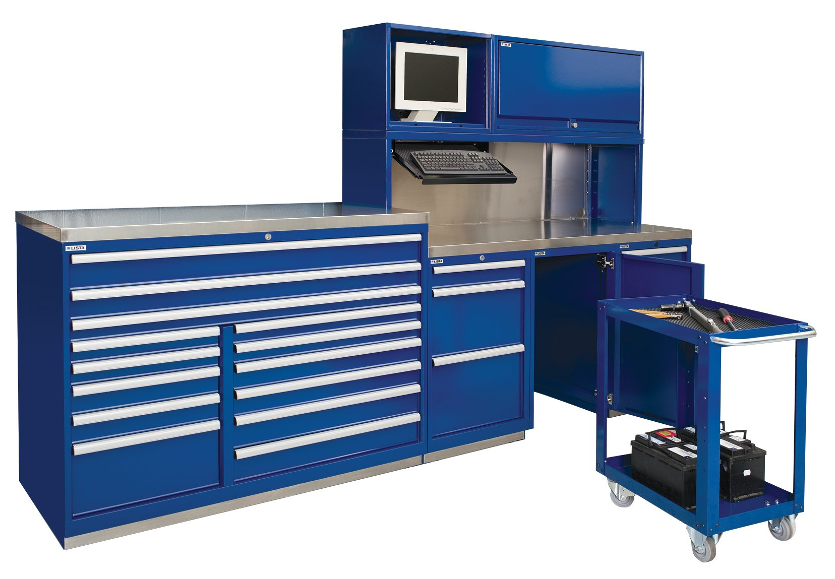 Lista Redesigns Service Bay System
