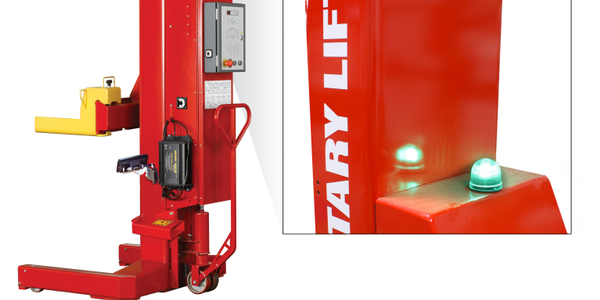 LockLight Indicates When a Lift is Safe